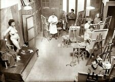 """Photographie, """"Académie Julian"""", Paris, 1912       /     13 x 18"""