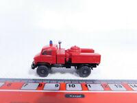 CR51-0,5# Wiking H0/1:87 Pulverlöschfahrzeug Unimog Mercedes/MB Feuerwehr/FW, sg
