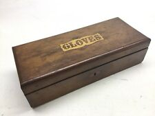 Antique Inlaid Glove Box