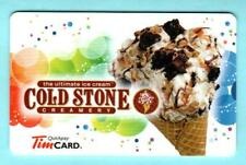 TIM HORTONS ( Canada ) Cold Stone Creamery 2013 Gift Card ( $0 )