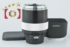 Very Good!! Voigtlander MACRO APO LANTHAR 125mm f/2.5 SL for Nikon