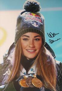DOROTHEA WIERER Biathlon WM Foto 20x30 signiert IN PERSON Autogramm signed 11