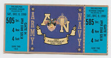 1990 Army Navy football game full ticket not stub 100th Anniversary