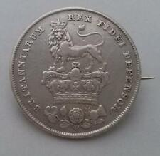 1826 George IV Silver Coin Brooch Weight 6.2g 0.925