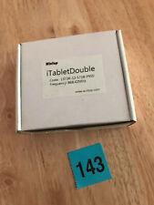 Wintop iTabletDouble Z-WAVE EU Double Wall Switch Two Channel Black