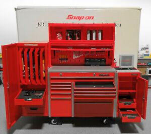 1/8 Scale (( TOY )) Snap On Diecast Tool Box Garge Workstation Bank Replica
