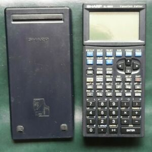 Sharp EL-9600 Graphical Graphing Calculator with case and stylus - VGC