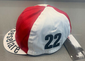 Rapha Special Edition Country Cap White Red Brand New With Tag One Size