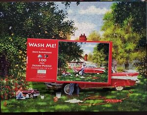 Suns Out 300 Piece Puze Art By Dave Barnhouse Wash Me Complete Preowned