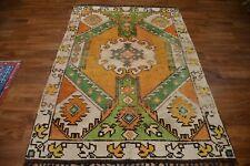 Amazing Colors Semi Antique 5x7 Oushak Turkish Oriental Rug