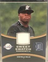 2008 UD Sweet Swatch Dontrelle Willis Game-Used Jersey Patch #SS-DW