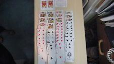 Vintage Double Deck KEM Playing Cards Cornucopia Harvest Design 60s