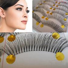 10 Paare/Set kreuzend falsche Wimpern Makeup lebensecht Wimper Feminin Favorit