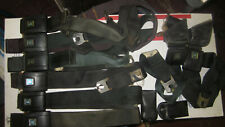 ORIG 1968-1971 Black Deluxe Full Set Shoulder Bucket Seat Belts GM Impala Nova