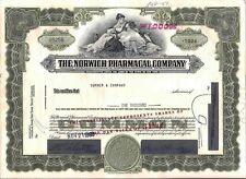 Norwich Pharmacal Comp. stock certificate More Than 100 shares State of Illinois