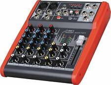 Audio2000'S AMX7311 Professional Four-Channel Audio Mixer w/USB&DSP Processor-MR