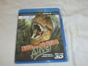 Dinosaurs Alive (Blu-ray Disc, 2010, 3D)