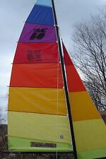 New Multi-colored  Neil Pryde sail