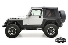 1997-2006 Jeep Wrangler TJ Soft top Canvas + Rear Tinted Windows Black Diamond