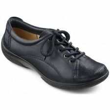Hotter Patternless Lace-up Flats for Women