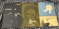 1960'S L.P. DAVIES 3 BOOK SET HBACK PSYCHOGEIST ARTIFICIAL MAN TWILIGHT JOURNEY