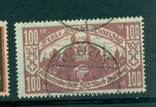 "FREE CITY OF DANZIG - GERMANY 1923 ""Poor Man"" 100+30 M"