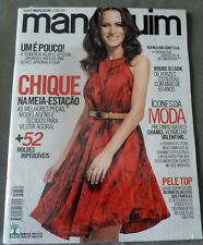 MANEQUIM  BRAZILIAN MAGAZINE 660 - MARCH 2014 W/ SEWING PATTERNS