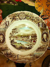 Oregon Plate by Meir and Frank by Johnson Bros. England Collectible plate