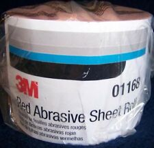 3M Red 1683 Stick It Adhesive Back Continuous Sheet Roll Sandpaper 240 Grit