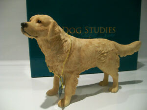 Golden Retriever Ornament Dog Gift Figure Figurine *New in box*