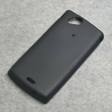 For Sonyericsson Xperia S LT15i Arc S LT18i New Black TPU matte Gel case cover