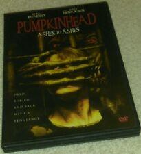Pumpkinhead Ashes to Ashes DVD  LANCE HENRIKSEN RARE oop horror Halloween
