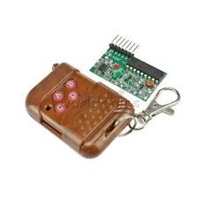 4 channel IC2262/2272 wireless remote control kits 4 key wireless remote 433MHZ