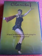 CLARITA FLEX'N STRETCH'N PUMP'N MAMBO MANIA DVD BRAND NEW!