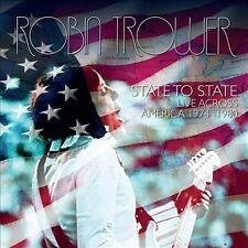 ROBIN TROWER State To State Live Across America 1974-1980 2CD BRAND NEW