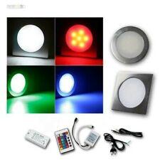 Complete Set Floor Light IP67 RGB Aluminium Recessed Ground Lighting