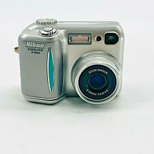 Nikon COOLPIX 4300 4.0MP Digital Camera Silver with Rechargeable Battery
