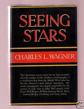 SEEING STARS-SHOW BIZ IMPRESARIO CHARLES WAGNER SIGNED-1ST-GOOD TO VG CONDITION