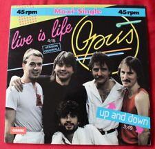 Disques vinyles maxi live 30 cm