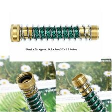 New listing Us Garden Attach Hose Extension Adapter Leaking Kink Protector w/Brass Couplings