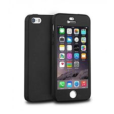iPhone 5S 360 Case. Full Front and Back Fitted Black Body Cover