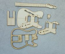 Thinline guitar template set