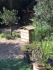 Beehive Composter Kit - Unpainted & Flat Packed, Part Constructed. Made to order