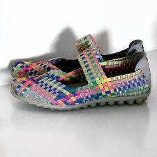 BERNIE MEV COLORFUL MARY JANES SHOES SZ 39 / 9