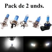 light bulbs light white, H4/H7/H8/H11, Halogen and LED, Xenon, Car/Motorrad