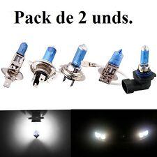Bombillas luz blanca, H1/H4/H7/H8/H11, Halogenas y LED, Xenon, Coche/Moto