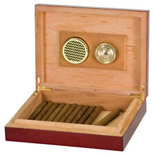 Rosewood Piano Finish Humidor with Personalization