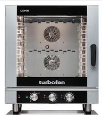 Turbofan EC40M7 Electric Combi Oven 7x1/1 GN Pan or 7 x 600x400mm Tray Capacity