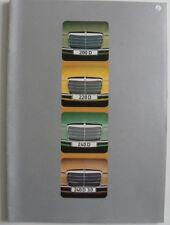 Catalogue / brochure Mercedes - Benz 200 D. 220 D . 240 D .240 D 3.0 de 06 / 74