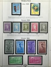 Boy/Girl Scouts Stamps on Pages - Make an Offer #5